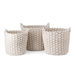 Nantucket Woven Rope Basket