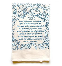 Hymn Tea Towel