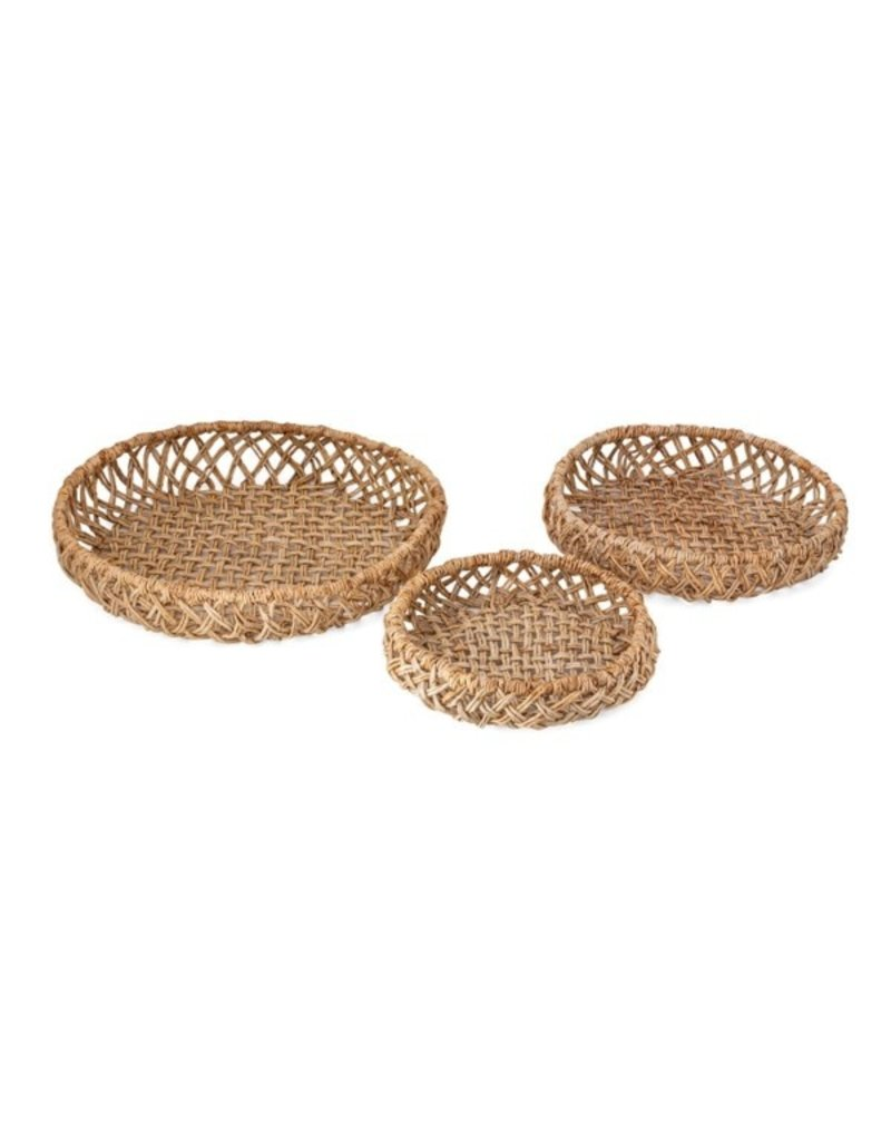 Abaca Woven Trays