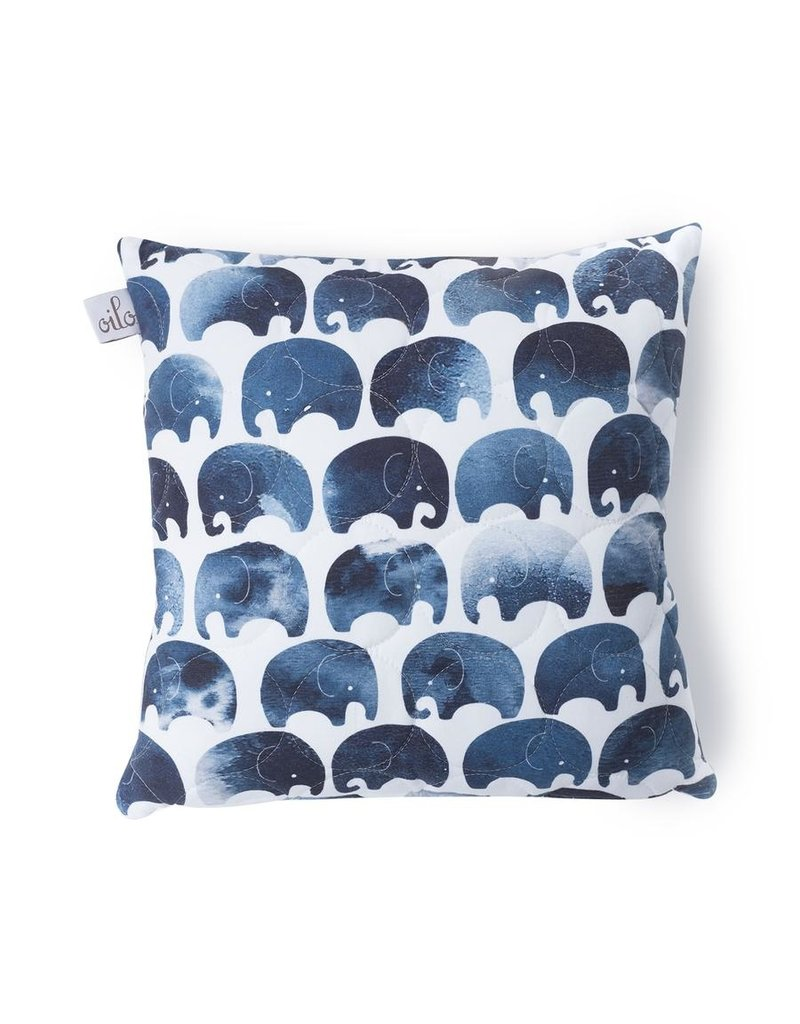Quilted Elephant Pillow