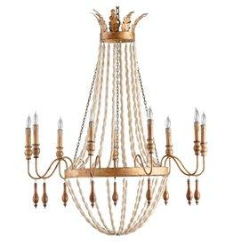 Alexandra 9 lt chandelier