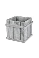 "10"" Wooden Panel Box"