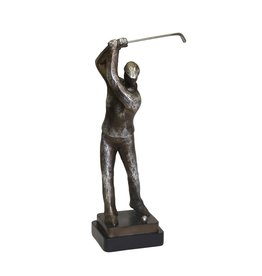 Silver Golf Figurine