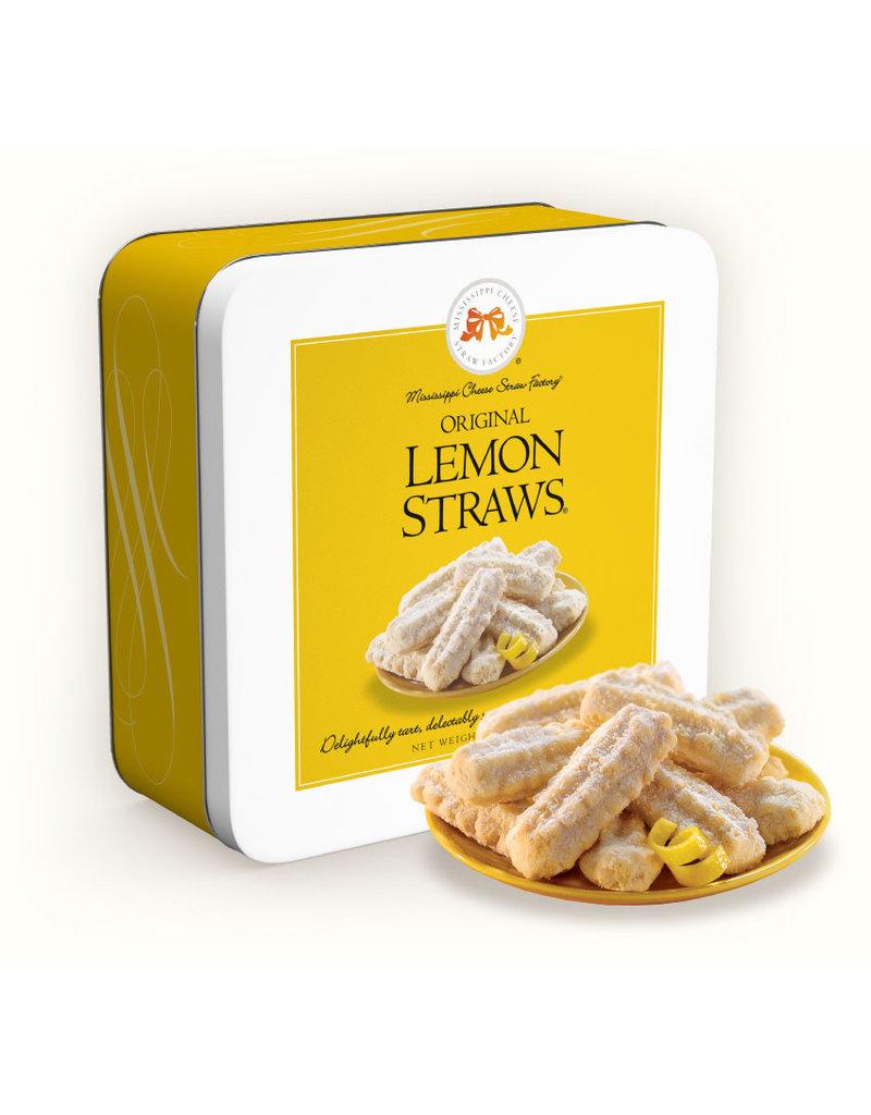 Lemon Straws