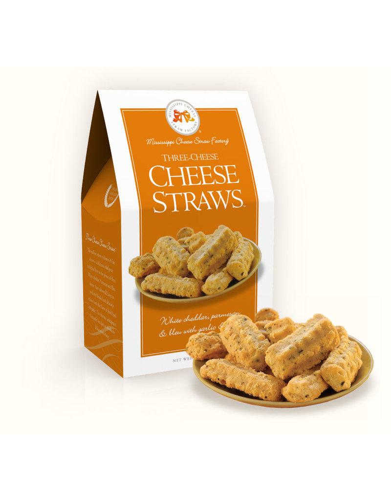 Three Cheese Straws