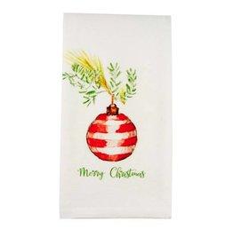 Ornament Merry Christmas Dishtowel