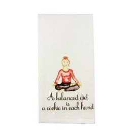 Balanced Diet Cookie Dishtowel