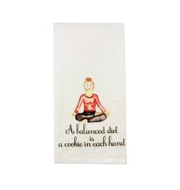 Balanced Diet Cookie Dishtowel