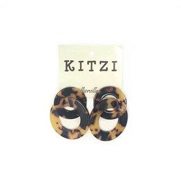 Acrylic/Tortoise Earrings