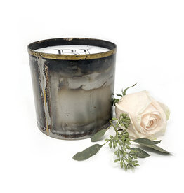 Pewter Tin Candle