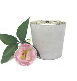 12oz Double Wick White candle