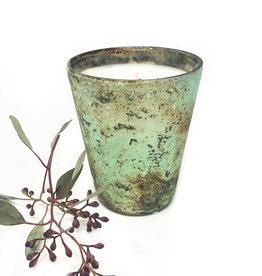 8.5oz Turquoise Candle