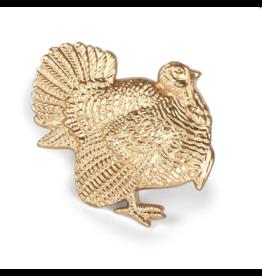 Gold Turkey Napkin Ring