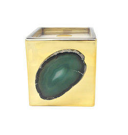 Agate Scented Candle - Gold