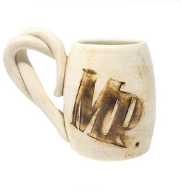 Mr. Pottery Coffee Cup in Brown
