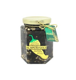 Jalapeno Gold Original Candied Peppers 13 Oz