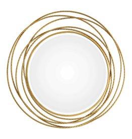 Whirlwind Gold Mirror