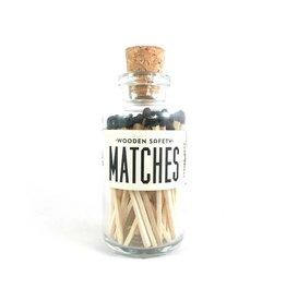 Black Mini Matches