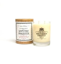 Grapefruit Mangosteen Glass Candle 14 Oz