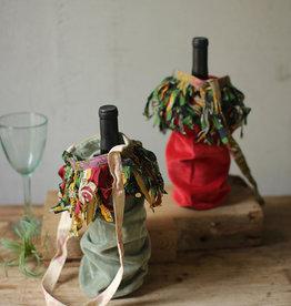 Velvet Wine Bags