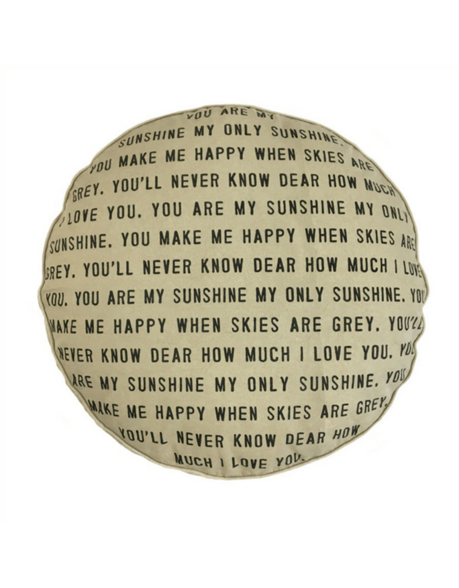 Floor Pouf You are My Sunshine