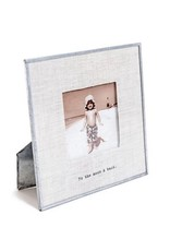 To the Moon and Back Glass Photo Frame