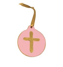 Cross Disc Ornaments