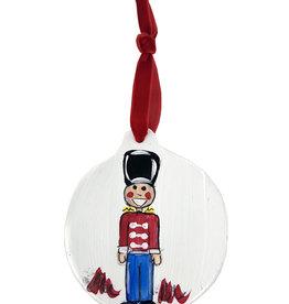Nutcracker Disc Ornaments