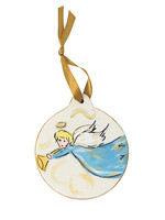 Angel Disc Ornament