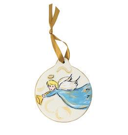 Angel Disc Ornament