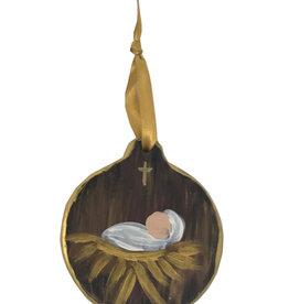 Baby Jesus Disc Ornaments
