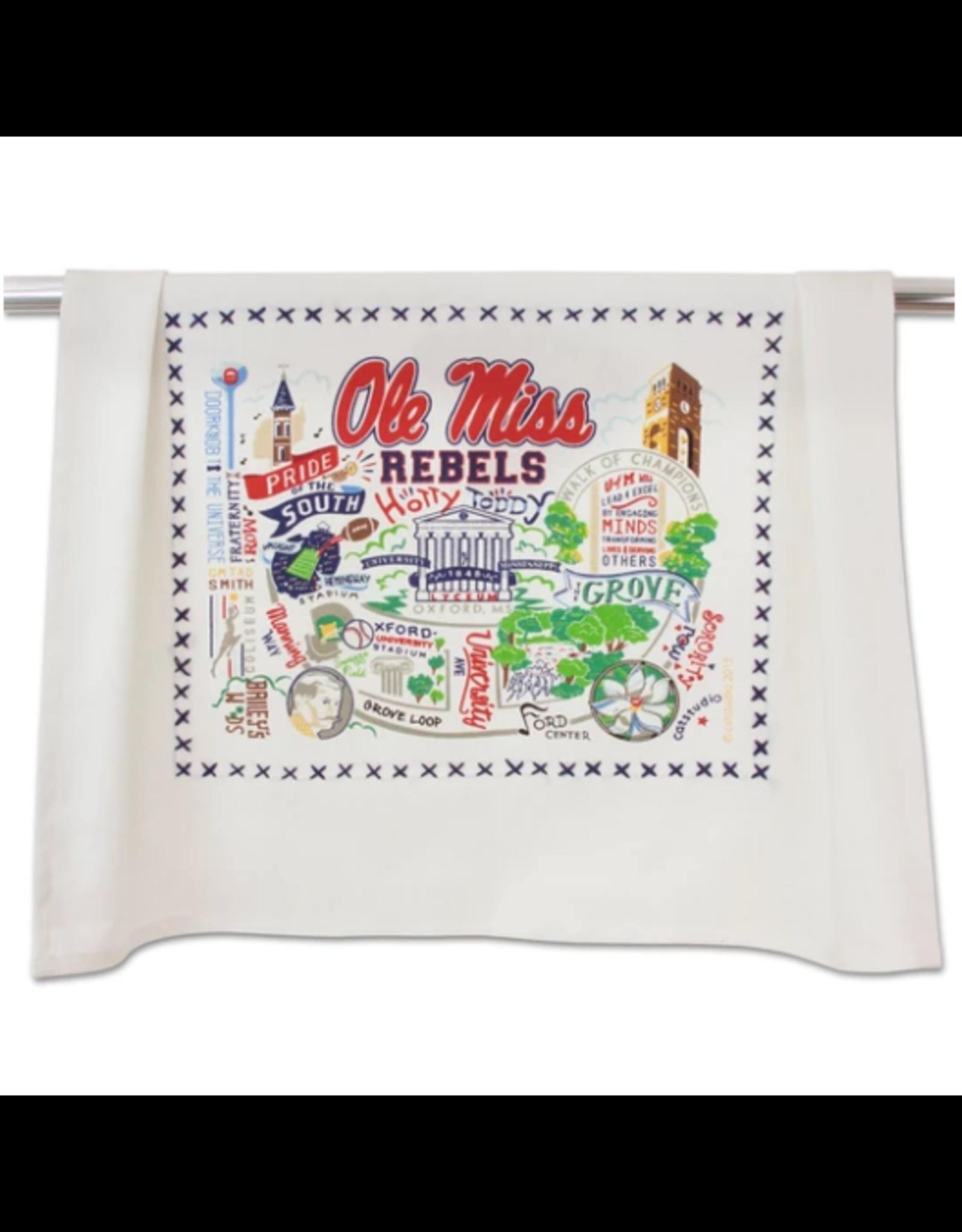 Ole Miss Dish Towel
