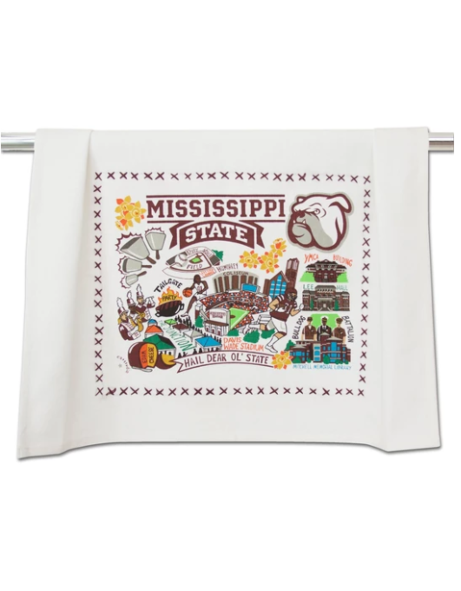 Mississippi State Dish Towel