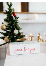 Peace Love Joy Gift Set