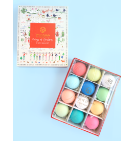 Twelve Days of Christmas Bath Bomb Set