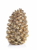"""Gold Decorative Pine Cone 21"""""""