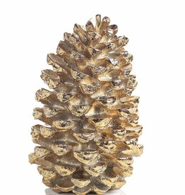 Gold Decorative Pine Cone 21""