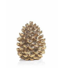 Gold Decorative Pine Cone 16""