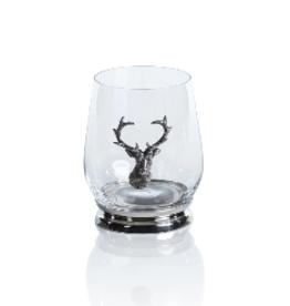 St. Anton Pewter & Glass Tumbler