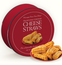 Cheese Straws 16 OZ Red Tin