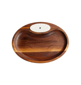 Walnut Tidbit Tray
