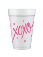 Foam Cup XOXO Set/12