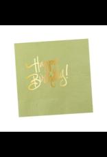 Napkins Happy Birthday