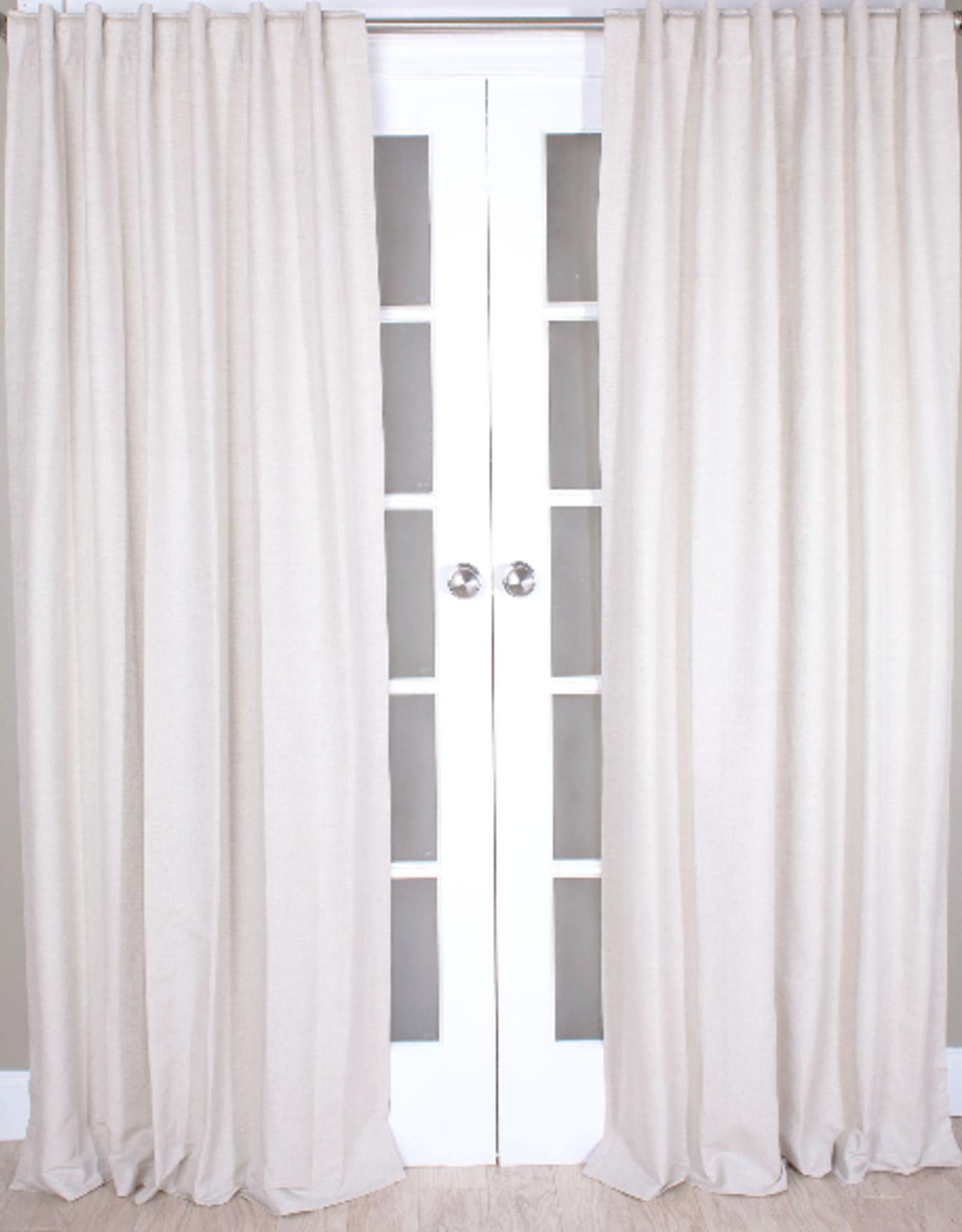 """Linen Cotton Panel Natural 51x96"""""""