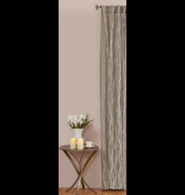 Linen Fraying Panel Grey