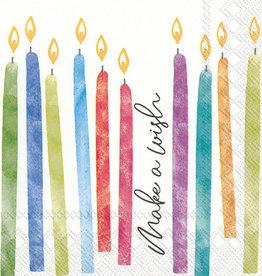 Birthday Wish Cocktail Napkin
