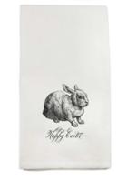 Happy Easter Bunny Tea Towel