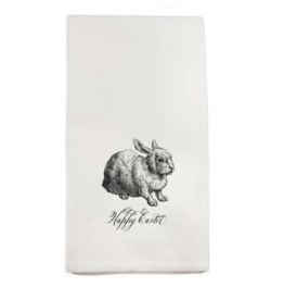 Happy Easter Bunny Tea Towel
