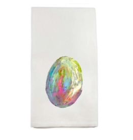 Colorful Egg Tea Towel