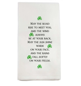 May the Road Dishtowel